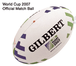The Gilbert World Cup ball has been well received by nearly all teams at RWC